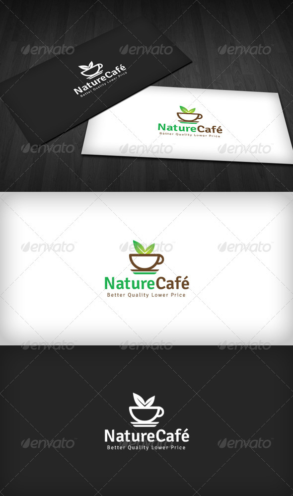 Nature Café Logo - Food Logo Templates