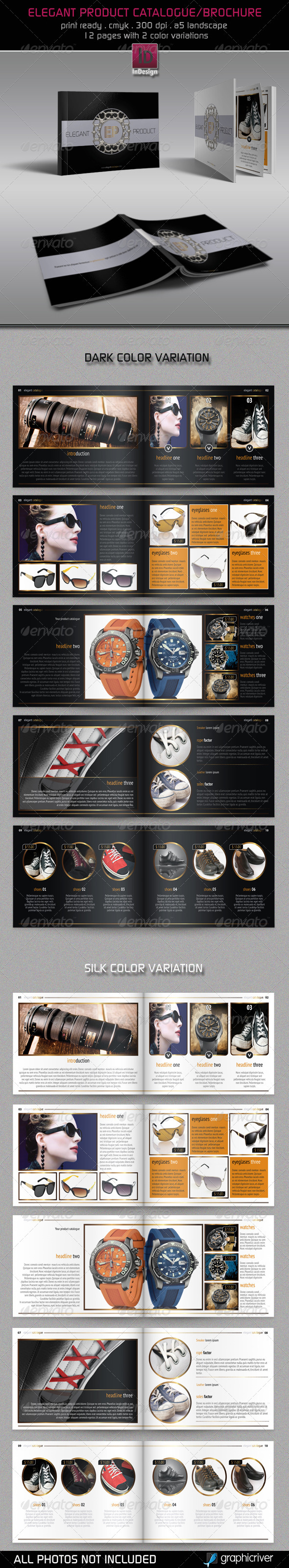 GraphicRiver Elegant Product Catalogue Brochure 2629975