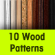 10 Seamless Wood Patterns - GraphicRiver Item for Sale