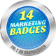 14 Modern Marketing Badges-Graphicriver中文最全的素材分享平台