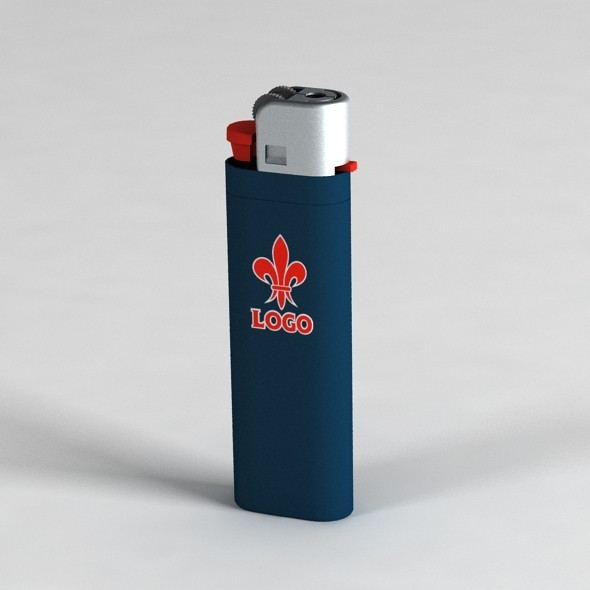 Lighter with UV Mapping - 3DOcean Item for Sale