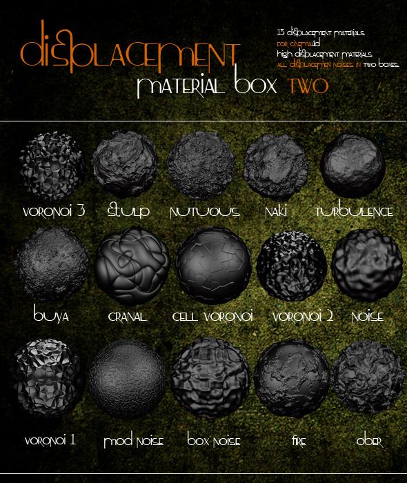 Displacement Box 2 - 3DOcean Item for Sale