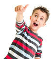 Little boy shows thumb up gesture - PhotoDune Item for Sale