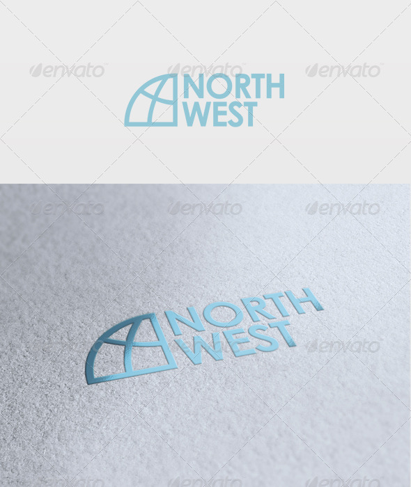 GraphicRiver North West Logo 2633413