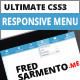 Ultimate Responsive CSS3 Menu - CodeCanyon Item for Sale