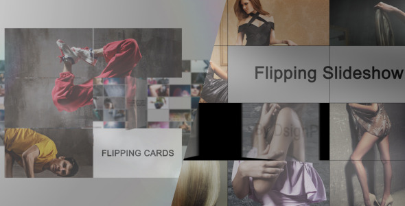 VideoHive Flipping Cards 2-In-1 2569533