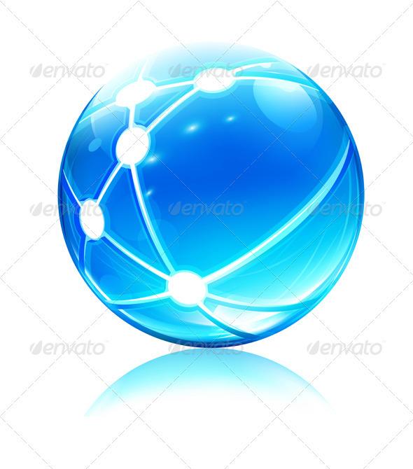 GraphicRiver Network sphere 2634336