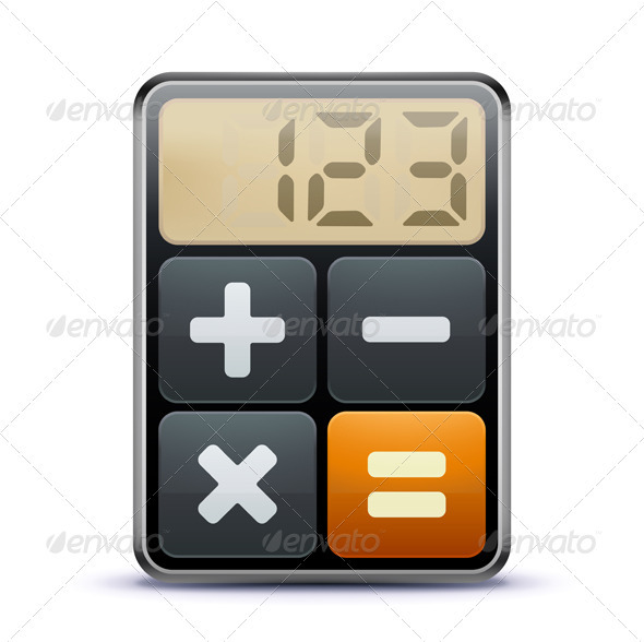 GraphicRiver Calculator icon 2634354