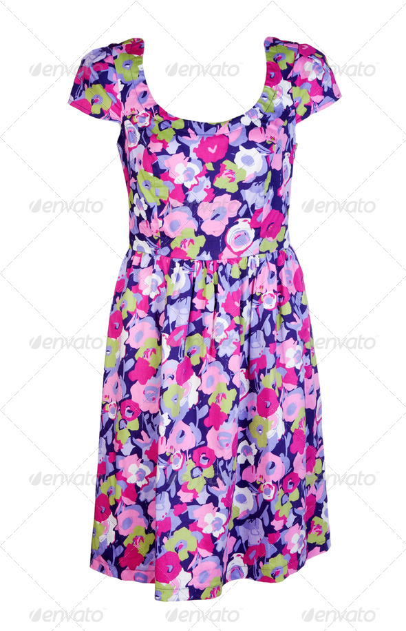 colored woman's dress - Stock Photo - Images
