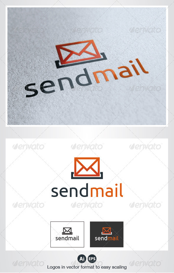Send Mail Logo - Objects Logo Templates