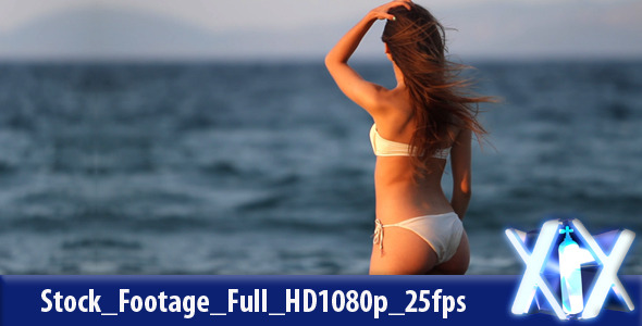 [VideoHive 2637287] Woman Gazing at the Beach   Stock Footage