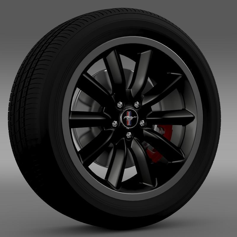 3DOcean Ford Mustang Boss 302 2012 wheel 2637895