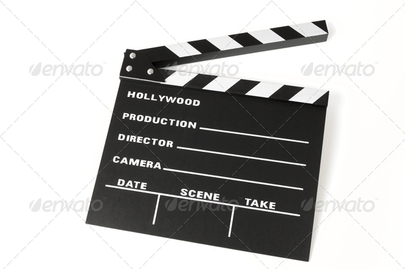 clapperboard - Stock Photo - Images