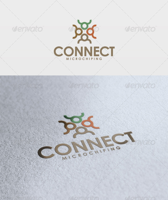 Connect Logo - Vector Abstract