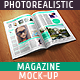 Photorealistic Magazine Mock-up - GraphicRiver Item for Sale