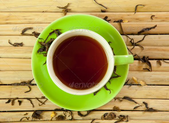 tea cup - Stock Photo - Images