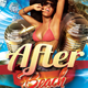 After Beach Party Flyer - GraphicRiver Item for Sale
