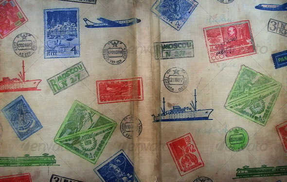Retro Stamp Texture - Miscellaneous Textures