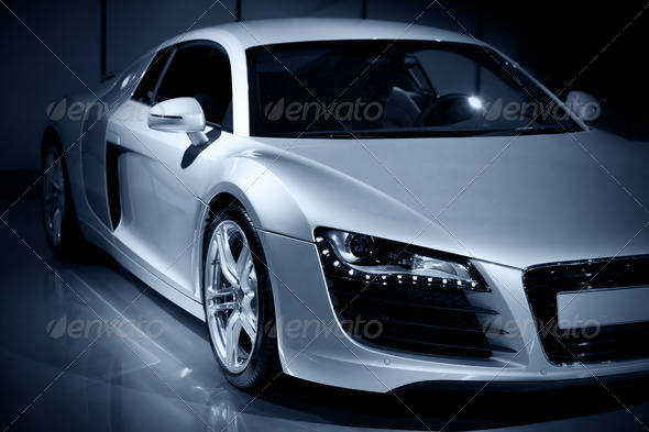 luxury sport car - Stock Photo - Images