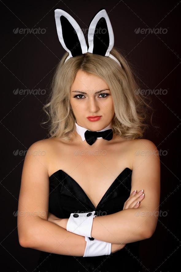 Фото девушки в костюме зайца 17 фотография