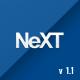 NeXT Clean Corporate Joomla! Template  Free Download