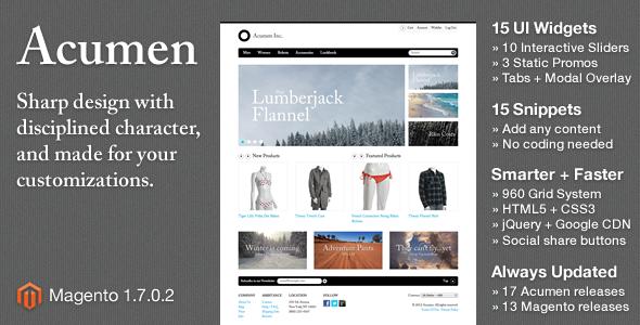 Acumen - Fashion Magento
