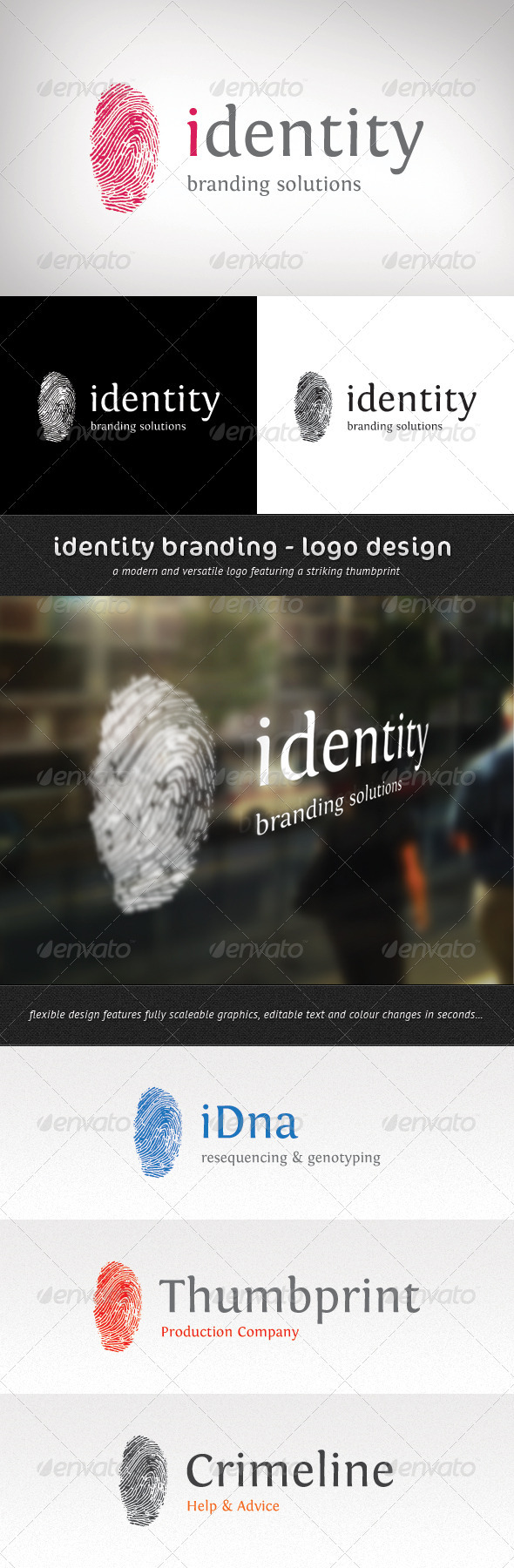 Identity Branding - Logo Template - Abstract Logo Templates
