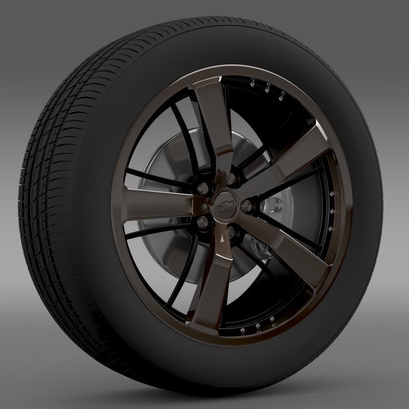 3DOcean Chevrolet Camaro 2008 BlackConcept 2643061