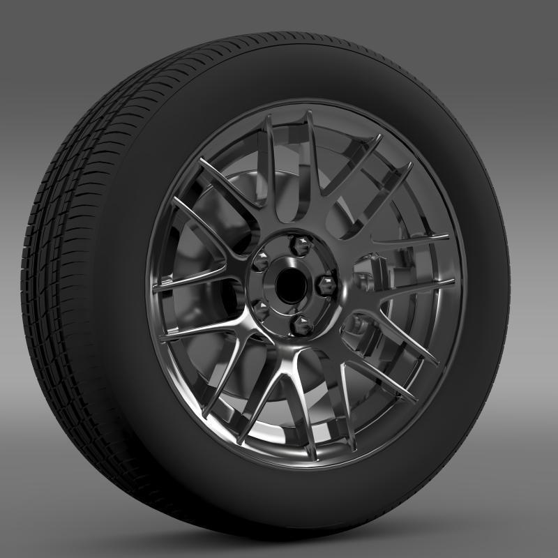 3DOcean Chevrolet Camaro 2012 Hennesey wheel 2643129