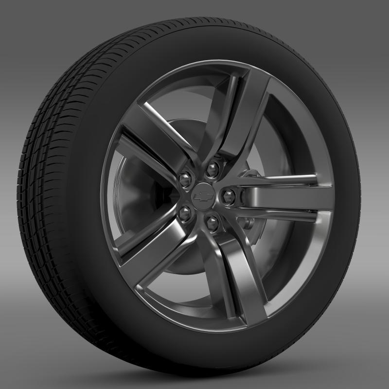 Chevrolet Camaro LS7 2008 wheel - 3DOcean Item for Sale