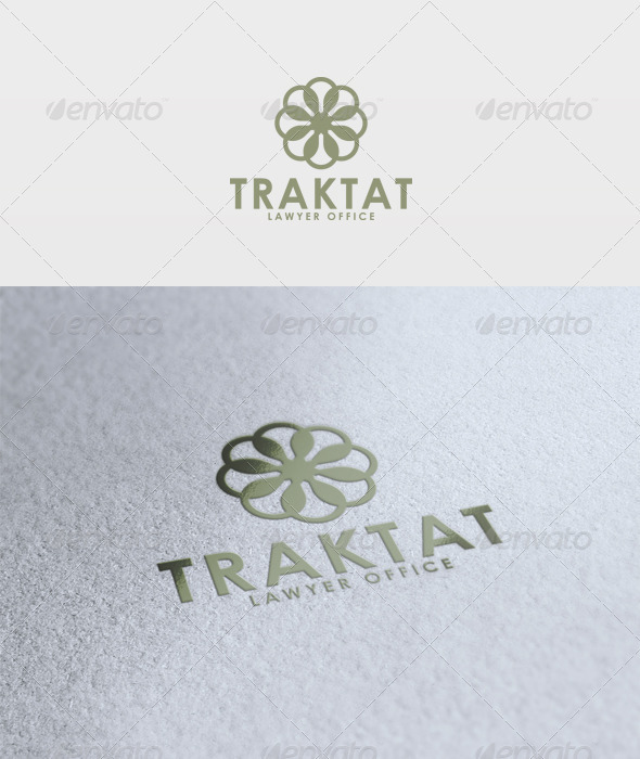 Traktat Logo - Vector Abstract