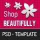 Beautiful Shop PSD - ThemeForest Item for Sale