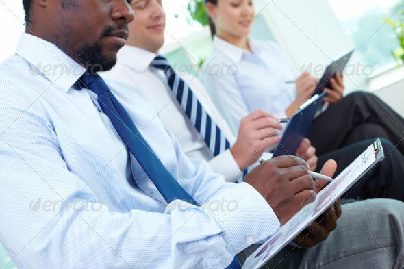 Written work - Stock Photo - Images