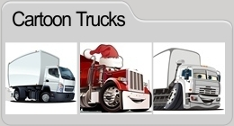 Vector Cartoon Trucks