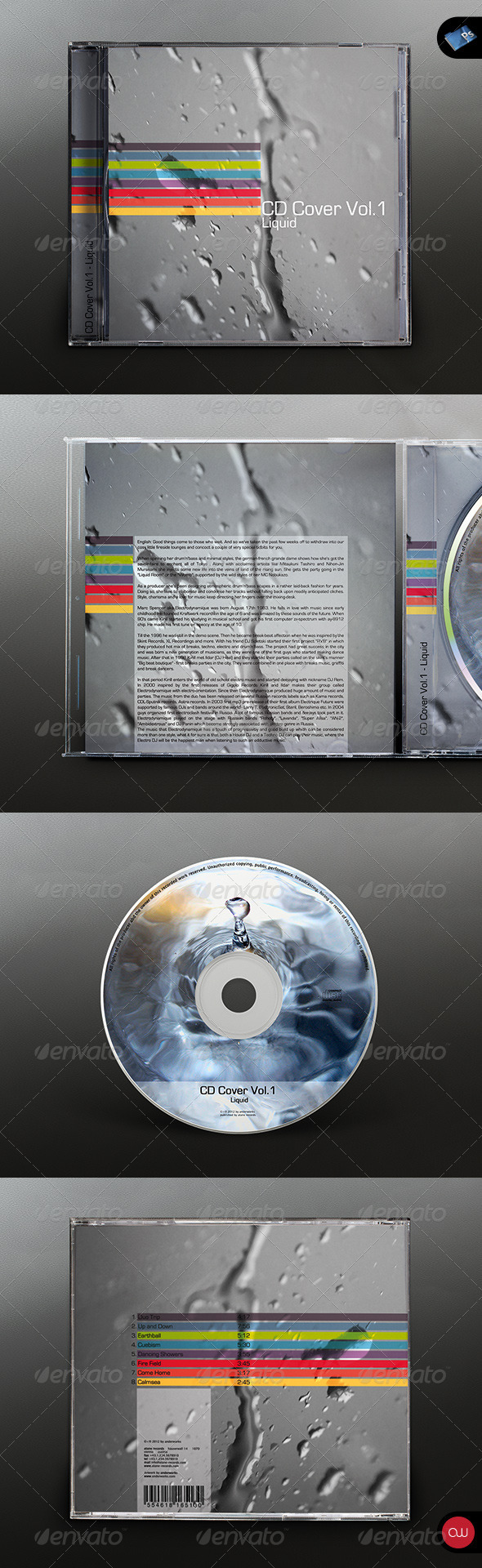 GraphicRiver CD Cover Vol.1 Liquid 2648107