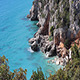 Waves Crashing On Cliff In Sardinia Italy - VideoHive Item for Sale