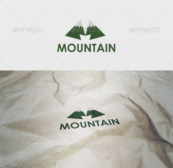 Mountain Logo - Letters Logo Templates