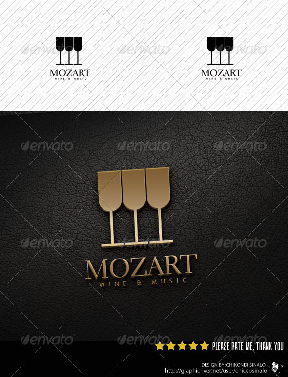 Mozart Logo Template - Abstract Logo Templates