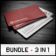Business Cards Bundle #4 - GraphicRiver Item for Sale