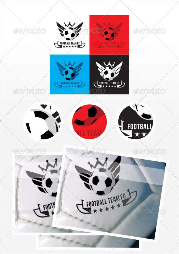 GraphicRiver Football Team FC Logo 2649886