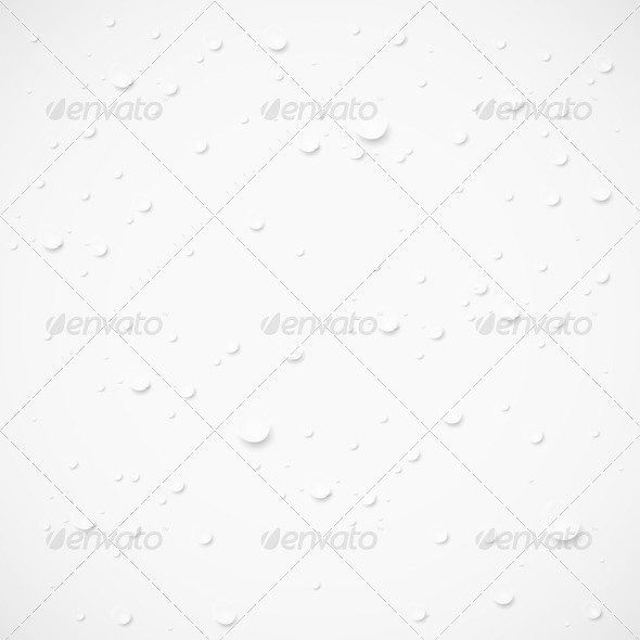 drops on gray background.  - Stock Photo - Images