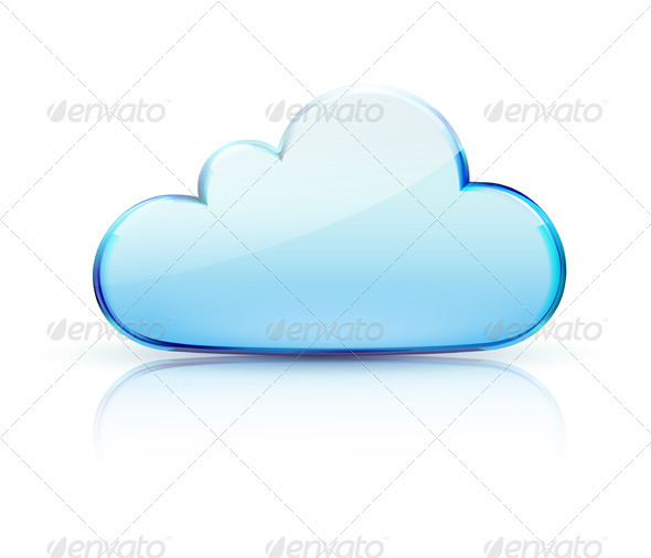 Internet cloud icon  - Technology Conceptual