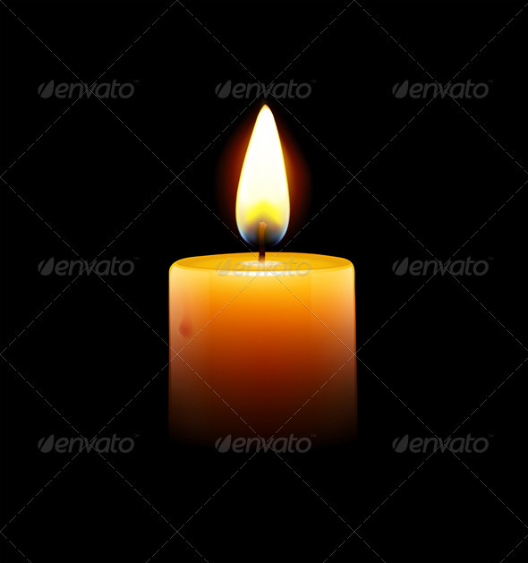 GraphicRiver Candle 2651618