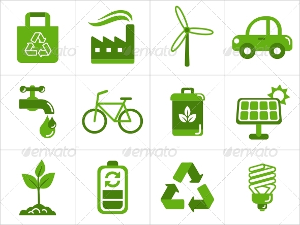 Eco Icons - Miscellaneous Icons