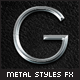 Shiny Metal Styles Pack - GraphicRiver Item for Sale