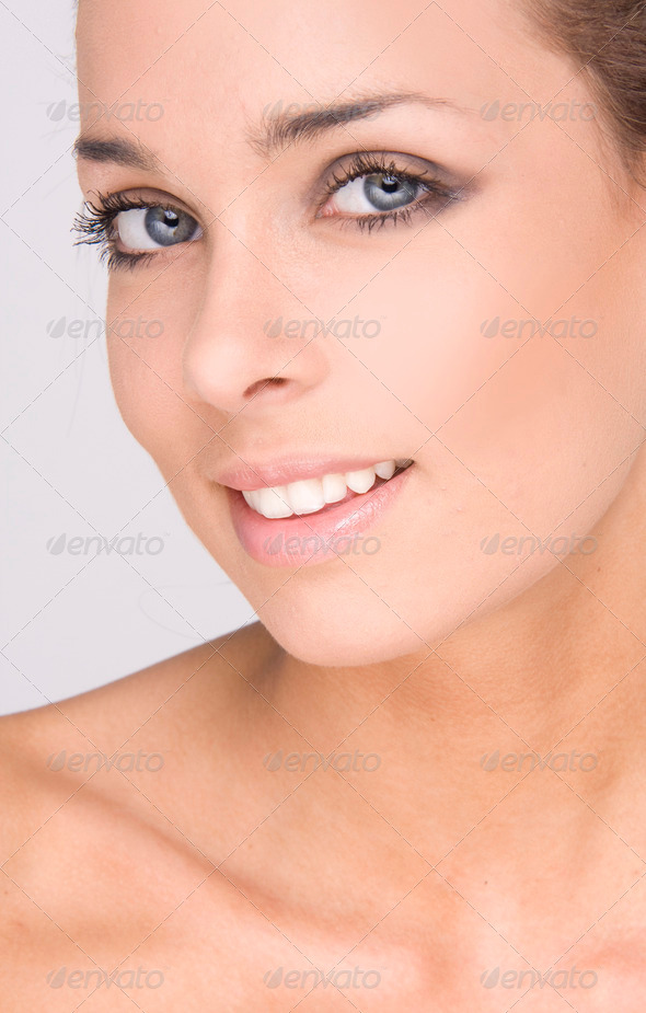 beauty face - Stock Photo - Images