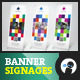 Pixel - Multipurpose Outdoor Banner Signage 1 - GraphicRiver Item for Sale