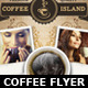 Coffee Shop Magazine ad or Flyer Template - GraphicRiver Item for Sale