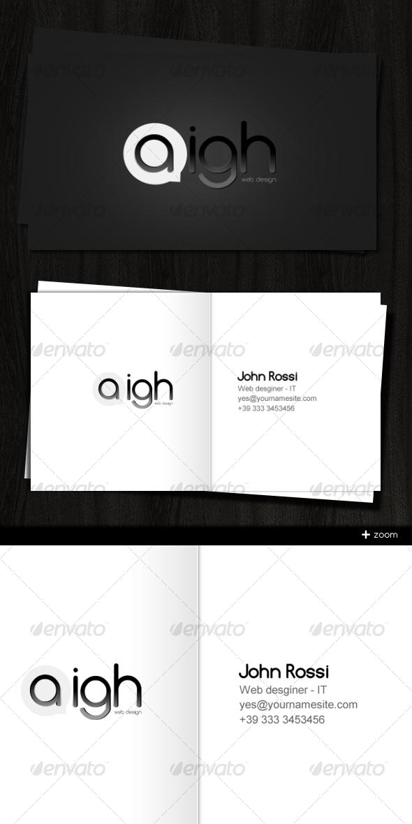 GraphicRiver Aigh Card 49306