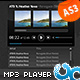MP3 Player with Playlist and Album Art 06 AS3 - ActiveDen Item for Sale